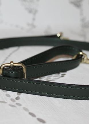 Кожаный плечевой ремень на сумку