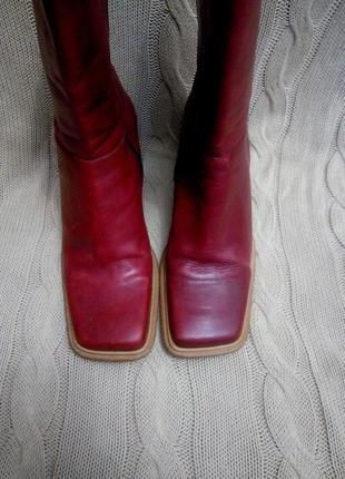 Моднейшие кожаные ботинки 40р