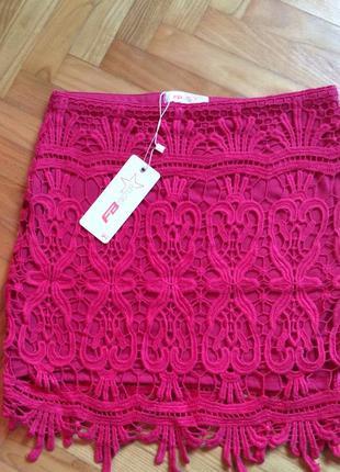 Новая ажурная юбка