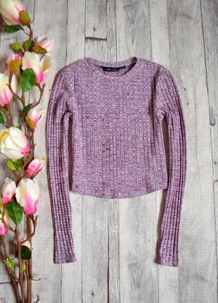 Стильный короткий свитер new look
