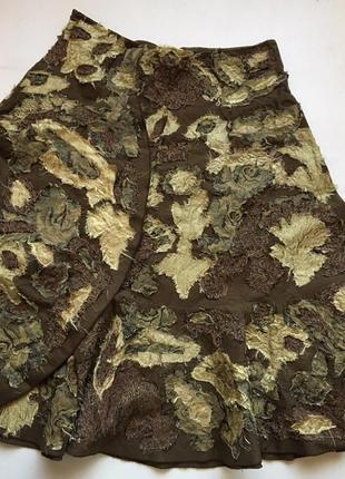Интересный фасон и расцветка юбка maxmara! оригинал!