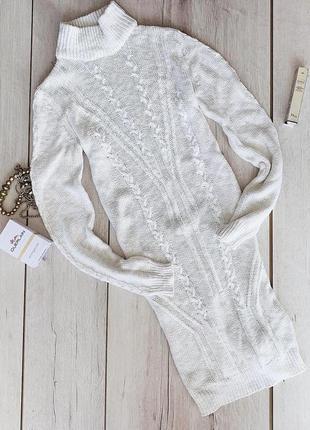Тёплое вязанное платье by vila