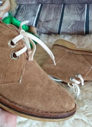 Ботинки дезерты kenya. натуральная замша, внутри кожа.