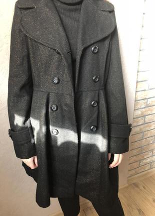 Осень стильное пальто с блеском atmosphere