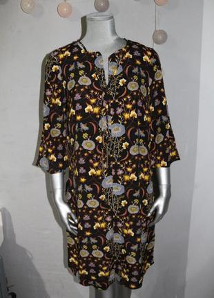 Миди платье в цветы george