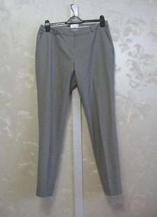 Классические серые брюки h&m