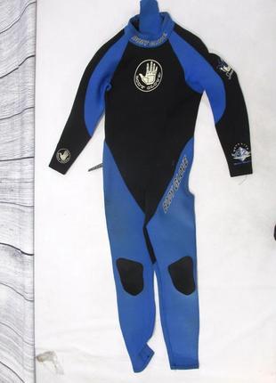 Гидро костюм body glove 3мм, (xxl) пог 40 см на xs , есть мин сл носки, уценка!