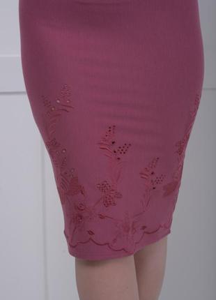 Срочно продам юбки трикотажные темно-розового цвета