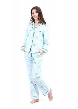 Очень красивые пижамные штаны пижама хлопок george