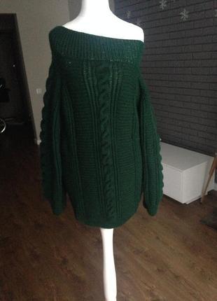 Новый вязанный свитер mango