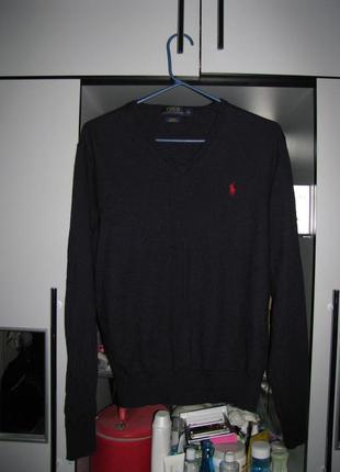 Шерстяной свитер ralph lauren