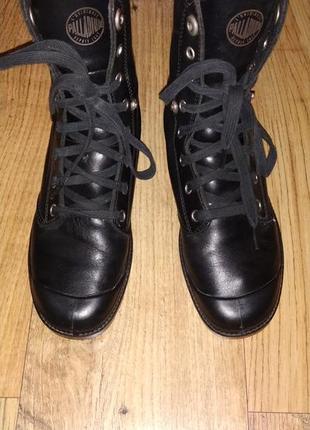 Кожаные деми ботинки palladium 38 р