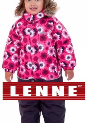 Зимний комбинезон для девочки lenne fun. размеры 86 и 92