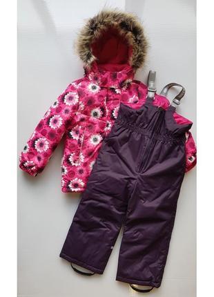 Зимний комплект для девочки lenne robina. размеры 104 - 134