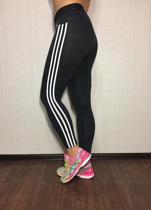Женские лосины леггинсы тайтсы adidas