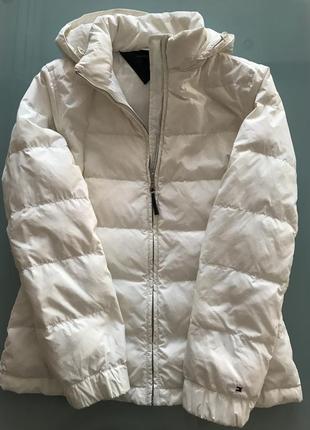 Пуховая куртка tommy hilfiger