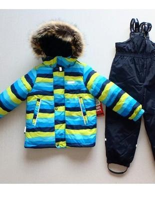 Зимний комплект для мальчика lenne rokcy. размеры 104, 122 и 134