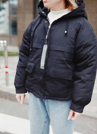 Акция/скидка! зимняя тёплая куртка оверсайз отличного качества5 фото