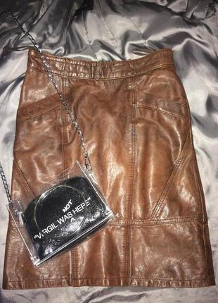 73967235e96 Кожаные юбки женские 2019 - купить недорого вещи в интернет-магазине ...