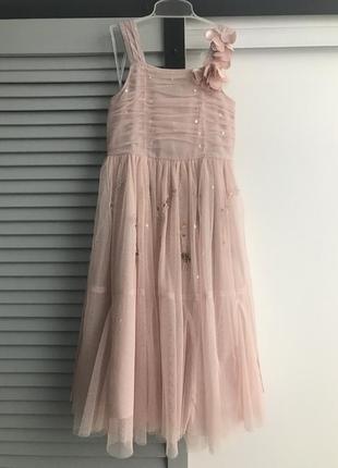 Нарядное платье next 5 лет свадебная коллекция