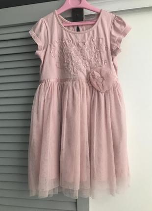 Нарядное платье next некст 4-5 лет на девочку