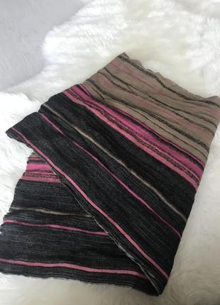 Шерстяной шарфик