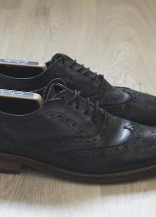 W11atelier мужские кожаные туфли броги оригинал осень