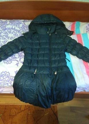 Зимняя курточка на девочку 10 лет