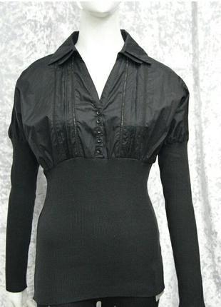 Черная блузка cop copine