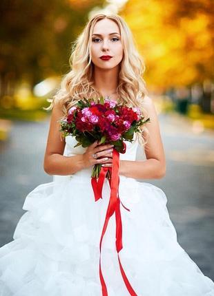 Свадебное платье оригинал justin alexander 8709