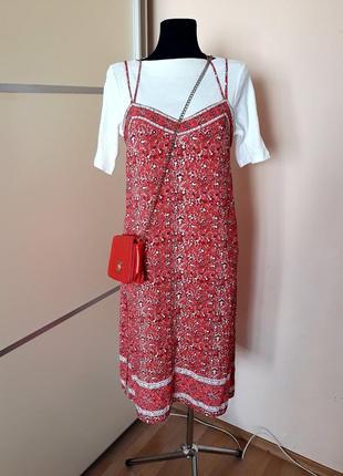 1+1=3 шикарное платье миди в бельевом стиле с разрезами