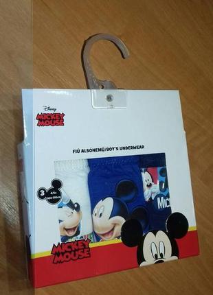 Трусики disney - mickey mouse- 2-3 р.
