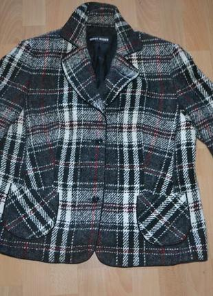 Шерсть пиджак garry weber xxxl
