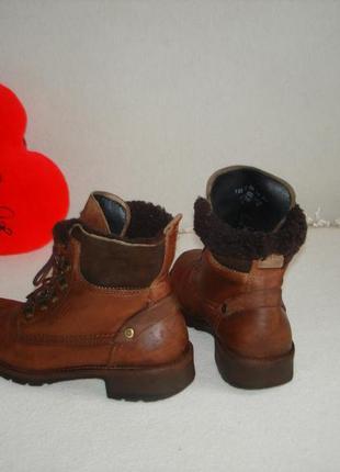 Ботинки полусапожки кожаные бренд camel active3