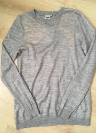 Стильный шерстяной свитер от asos