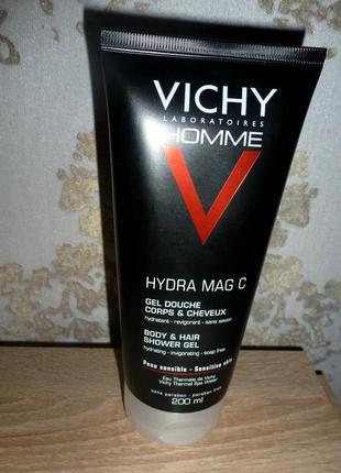 Тонизирующий гель для душа для волос и тела vichy