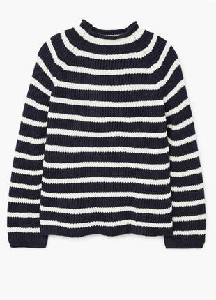 Полосатый свитер mango, размер m