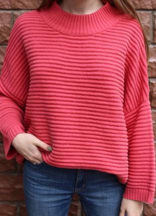 Распродажа! всего!!! качество - бомба! свитер, джемпер в рубчик (крутий светр)1 фото