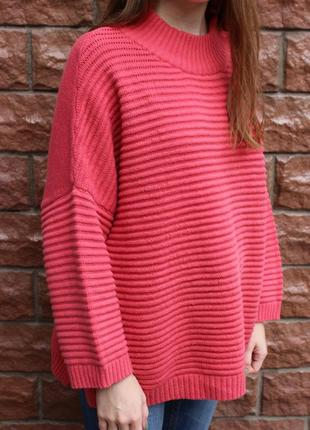 Распродажа! всего!!! качество - бомба! свитер, джемпер в рубчик (крутий светр)4 фото