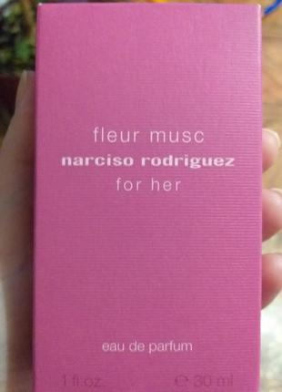 Парфюмерная вода for her fleur musc от narciso rodriguez