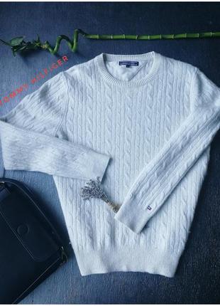 Теплый свитер из овчины  tommy hilfiger