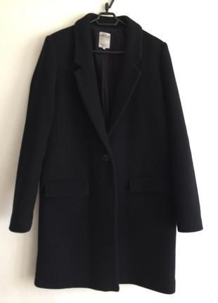 Классическое пальто zara в бойфренд стиле