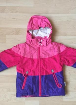 Лыжная курточка etirel на 2,5-4 года удобная теплая и легкая