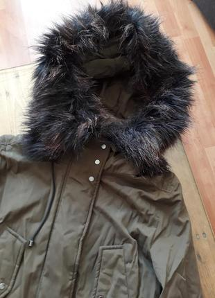 Крутая зимняя парка 2в1 бомпер куртка