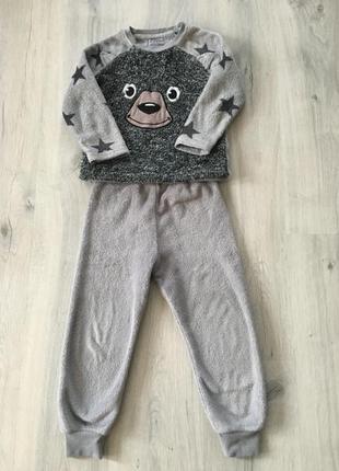 Тёплая пижама костюм rebel 4-5 обмен