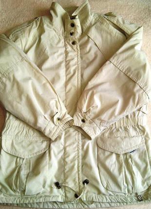 Шикарная куртка большого размера sympatex fulwiline.