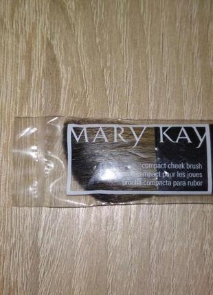 Компактная кисть для румян мери кей, mary kay