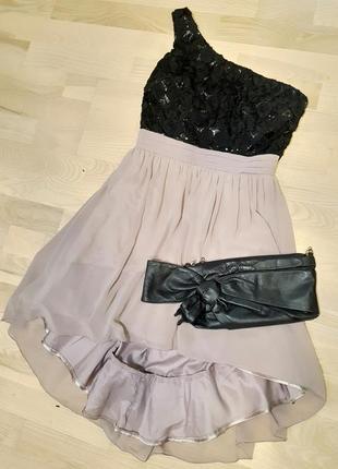 Красивое нарядное выпускное новогоднее платье little mistress святкова сукня