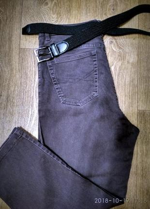 Шикарные джинсы бойфренды ..мом..с высокой талией 31-32///50
