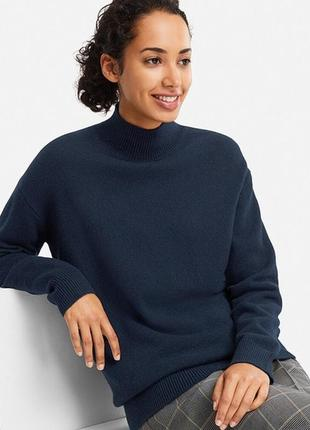 Тонкий шерсть мериноса, джемпер, свитер xs/ uniqlo